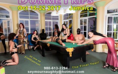 Domme Trips: Pervs in Paradise, 15-22 October 2017