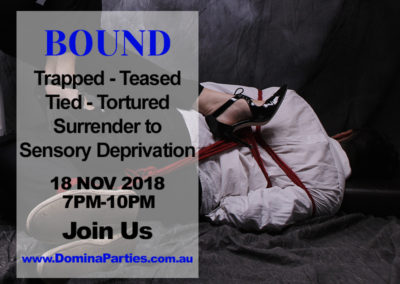 Bound To Please 18 Nov 2018