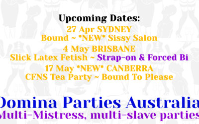 Sydney Domina Parties – 27 April