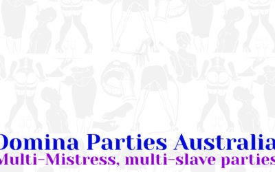 Domina Parties Sydney 27 July 2019