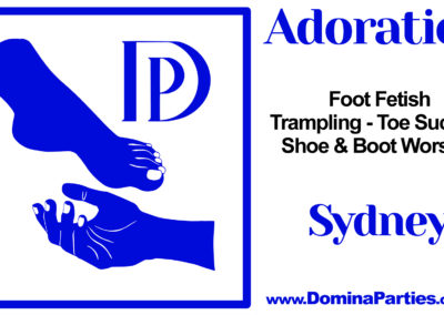Adoration Foot Fetish Party Sydney Domina Parties