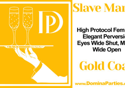Slave Manor DeCOCKathon Gold Coast Domina Party