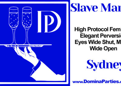 Slave Manor Sydney Domina Parties