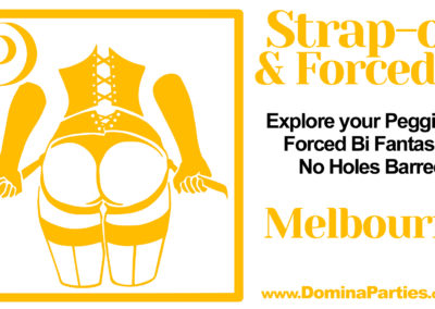 Strapon Forced Bi Melbourne Domina Parties